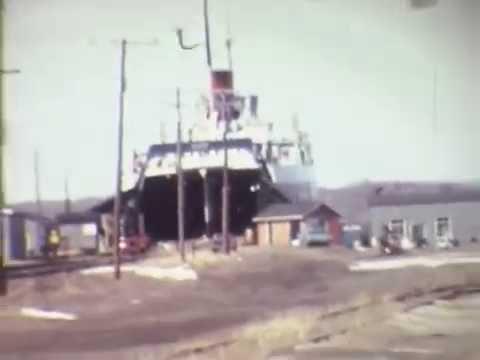 GTW Carferries, Muskegon 1975