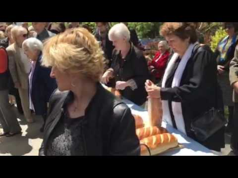St. Basil the Great followed by blessing of food baskets
