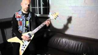"""JB from Grand Magus showing how to play """"Hammer Of The North"""""""
