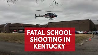 Fatal shooting at Kentucky's Marshall County High School, two dead and 17 injured