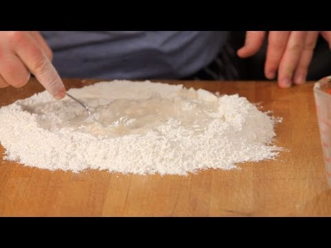 How to Make Pizza Dough without a Mixer | Homemade Pizza
