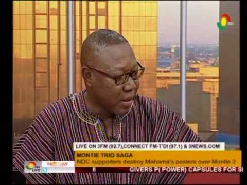 NDC supporters destroy Mahama's posters over Montie 3 - Newday Saturday Edition - 30/7/2016