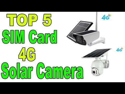 TOP 5 BEST SOLAR CCTV CAMERA IN 2020   Solar Power 4G SIM Card Camera