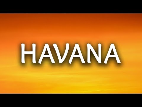Thumbnail: Camila Cabello ‒ Havana (Lyrics / Lyric Video) ft. Young Thug