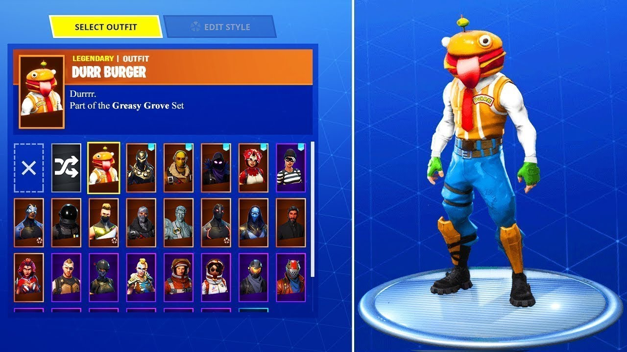 Quot New Skins Leaked Quot Durr Burger Skin Coming Soon