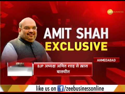Game of Gujarat: Exclusive interview with BJP President Amit Shah
