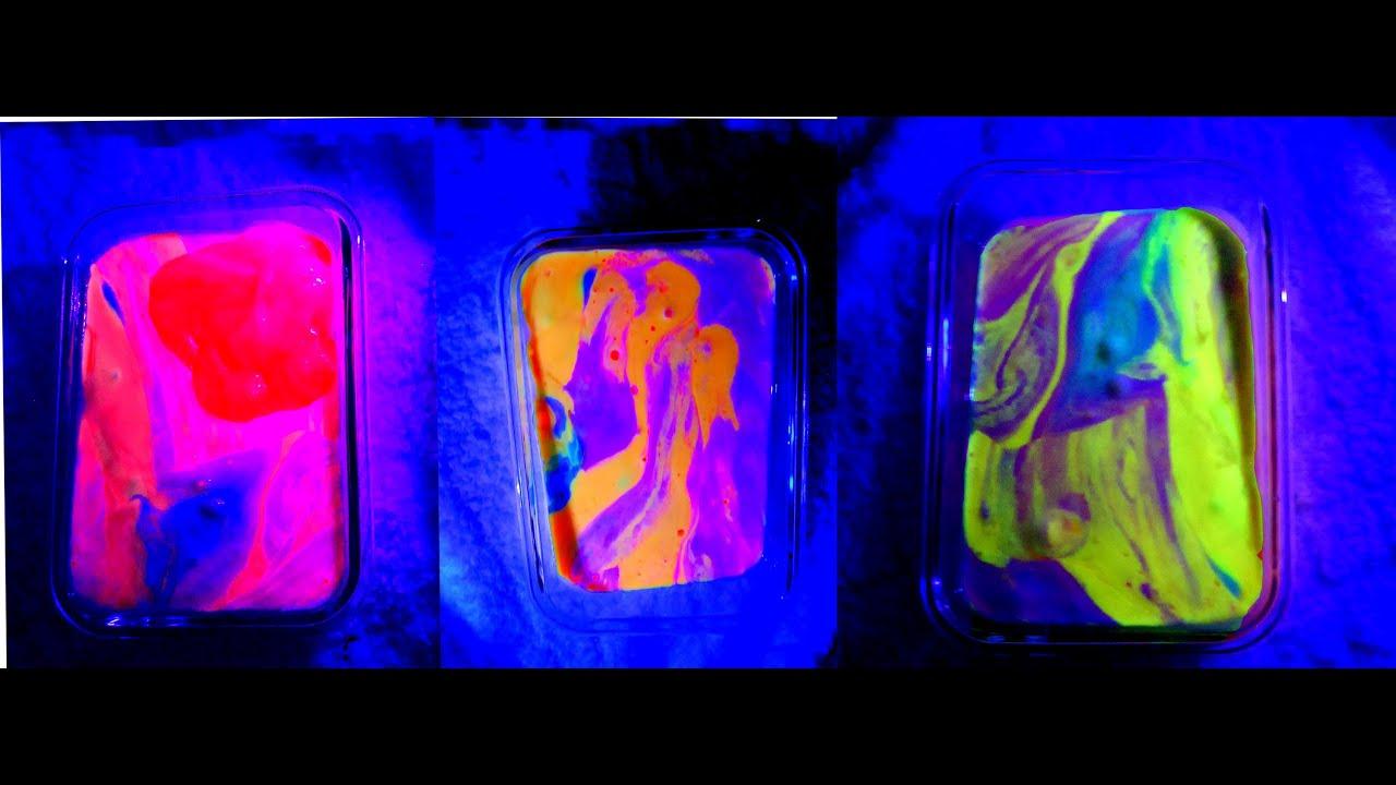 How to make Glow in the dark slime goo gak ! - YouTube