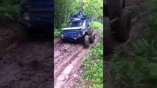 Нива на Колёсных Редукторах voin4x4 ru , Березники