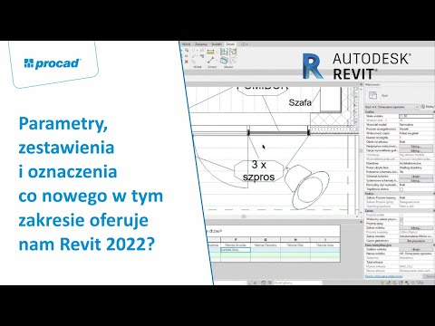 Parametry, zestawienia i oznaczenia – co nowego w tym zakresie oferuje nam Revit 2022? | NetCafe