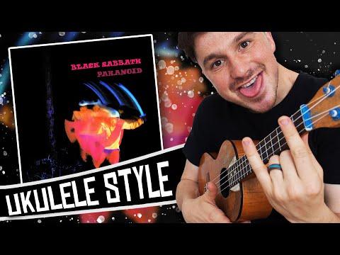 [ Black Sabbath ] Paranoid album medley on ukulele!