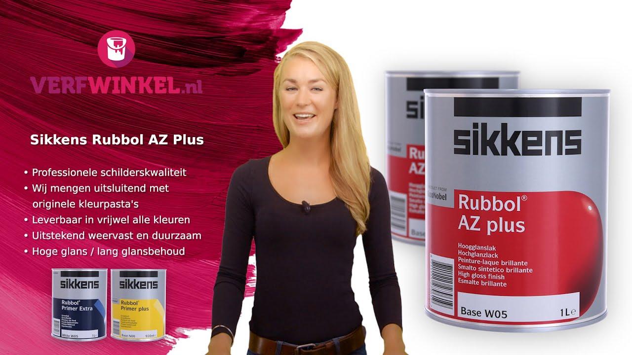 Sikkens Rubbol AZ Plus, bij Verfwinkel nl - productvideo 32
