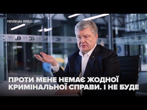 Порошенко про вибори, Зеленського, Гройсмана, власну партію і судову систему