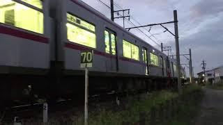 [まさかの代走!?]名鉄3150系+3150系3168F+3164F 須賀発車