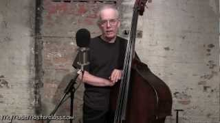 Jay Leonhart - Jazz Bass Lesson