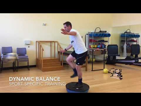 ICONSPT Rehab 2018 Africa Summit - Ankle Balance and Prioprioception Training Rehab