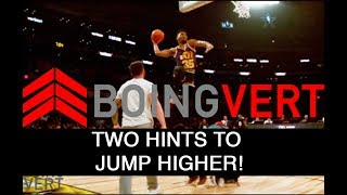 BoingVERT - Two Hints to Jumping Higher