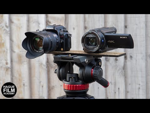 The Hague Twin Camera Mount For A Dual Camera Set-up