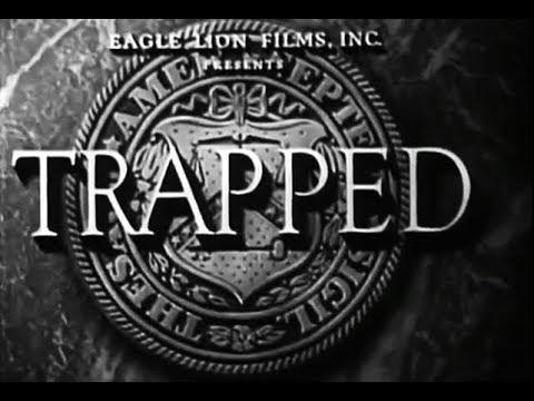 Film Noir Crime Drama - Trapped (1949)