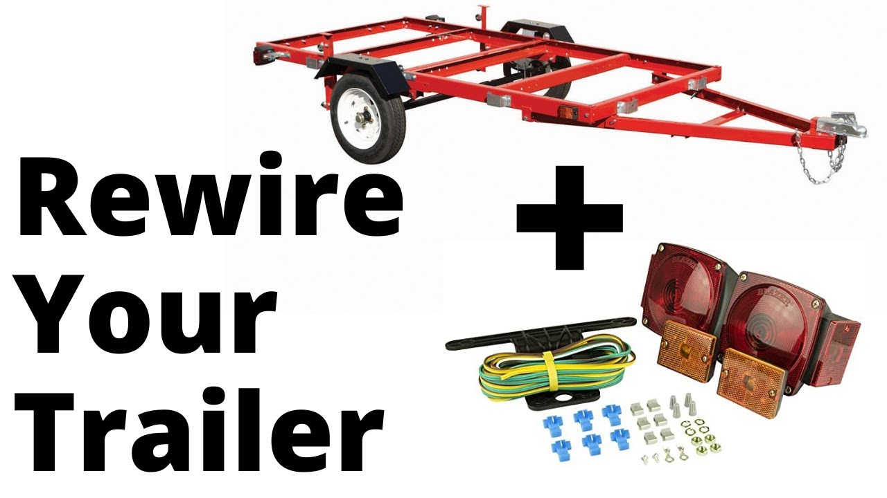 How To Rewire A Harbor Freight Trailer