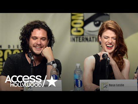 'Game Of Thrones': Kit Harington's April Fools' Prank Terrified His Fiancée Rose Leslie
