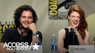 'Game Of Thrones': Kit Harington's April Fools' Prank Terrified His Fiancée Rose Leslie