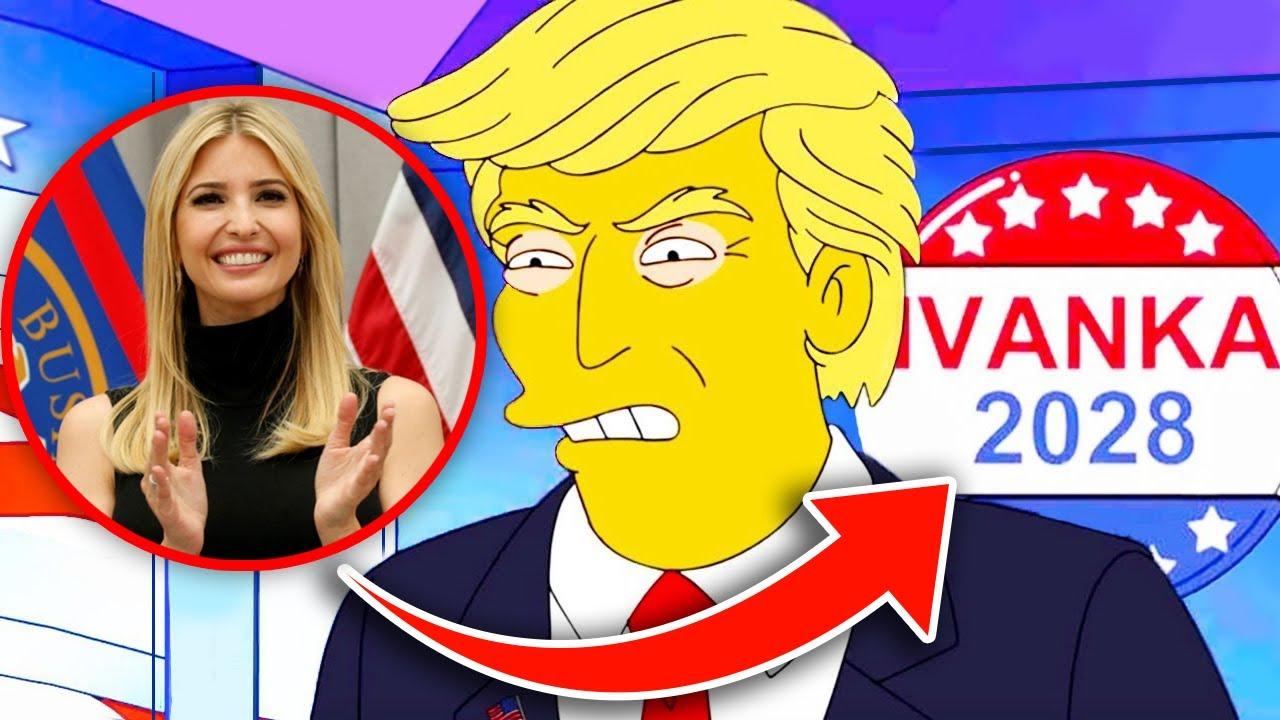 10 Simpsons Predictions That Haven't Happened Yet...(Ivanka Trump & MORE!)