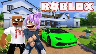 THE MEGA MANSION HOUSE TOUR IN ROBLOX (Roblox Mansion Tycoon)