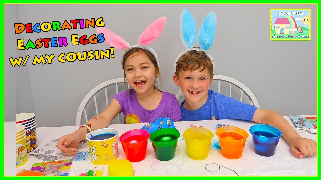 Easter Egg Coloring Kits for Kids