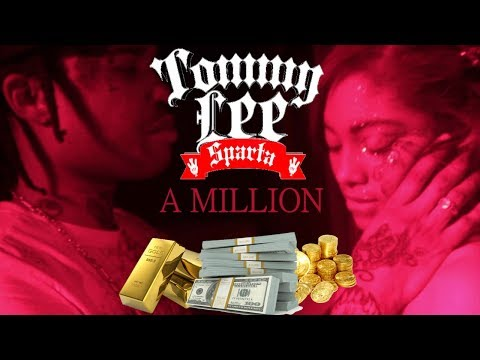 Tommy Lee Sparta - A Million - LYRIC VIDEO *incomplete*incorrect* - August 2011