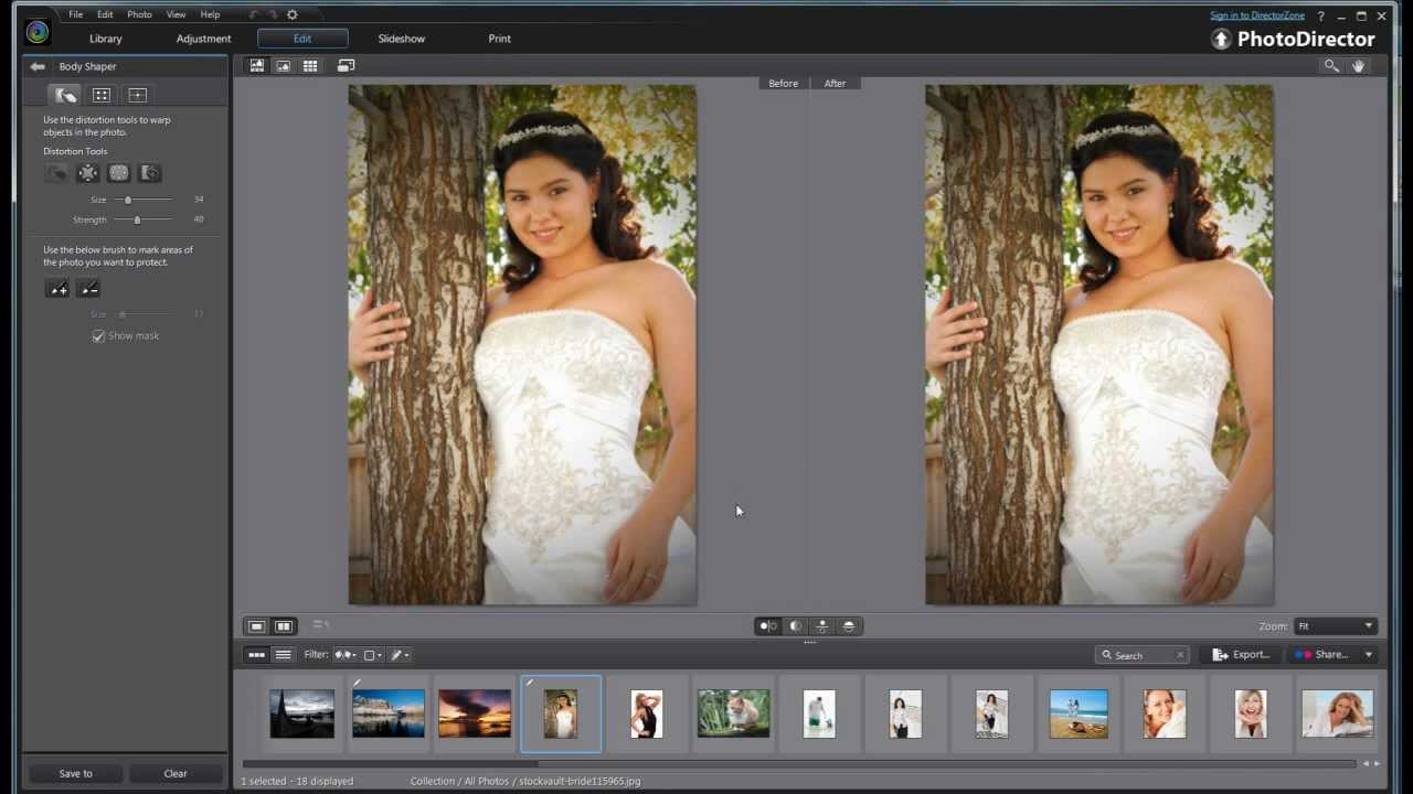 Cyberlink PhotoDirector 4 Ultra Overview + Tutorial - YouTube