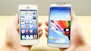 One of Justin Tse's most viewed videos: Samsung Galaxy S4 vs Apple iPhone 5