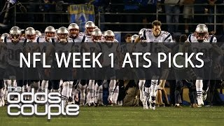 ATS Value Picks For NFL Week 1 Action