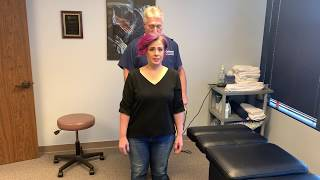 Houston Chiropractor Dr Greg Johnson Adjust League City Lady After A Lifetime Of Pain