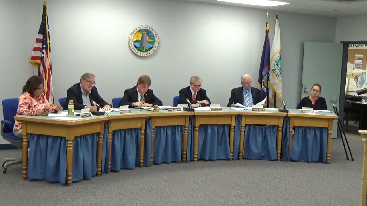 Town of Plattsburgh Meeting  6-15-17