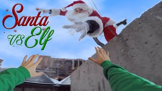 Santa Vs Elf - Parkour POV