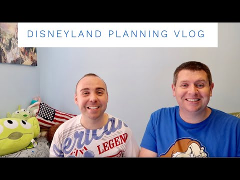 Disneyland California - Planning and booking our first trip