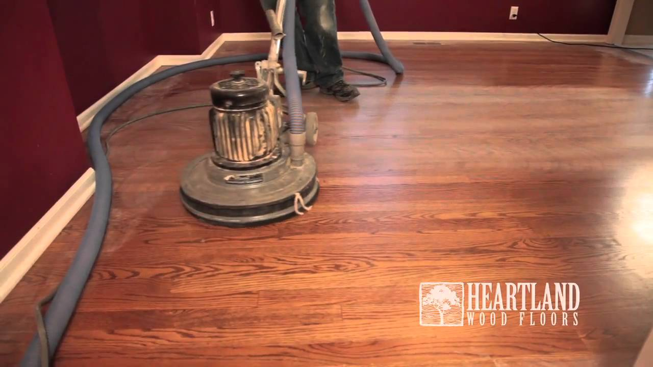 Heartland Wood Floors Recoat Video - Heartland Wood Floors Recoat Video - YouTube