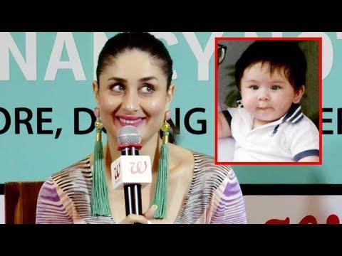 Kareena Kapoor SPEAKS About Baby Taimur Ali Khan For The First Time | Taimur Ali Khan