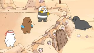 We Bare Bears: Sandcastle Battle · Game · Gameplay