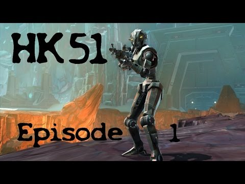 Swtor - Missions HK 51 - épisode 1 - YouTube