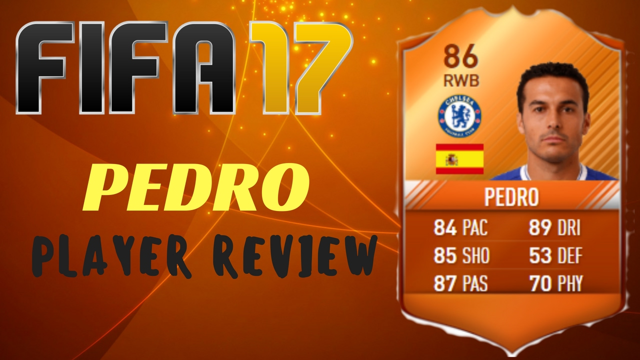 FIFA 17 MOTM PEDRO (86) PLAYER REVIEW + IN GAME STATS ...