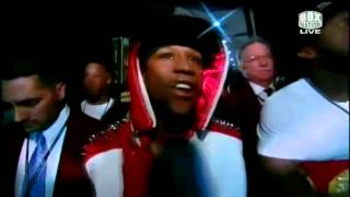 Floyd Mayweather Jr. ring entrance vs Miguel Cotto