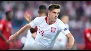 Krzysztof Piątek Gol 1-0 Polska v Portugalia 11.10.2018