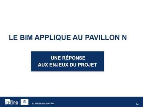 Paris Healthcare Week 2016 -Le recours au BIM dans un site historique (HCL)
