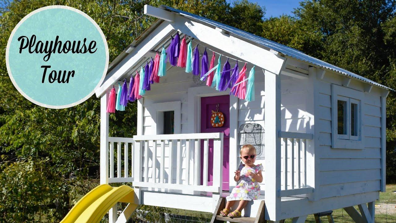 diy crate wood playhouse a tour