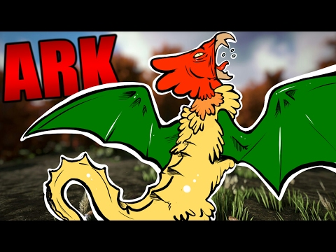 ARK Survival Evolved - COCKATRICE MONSTER & ALPHA THORNY DRAGON #23 - ARK Extinction Mod Gameplay