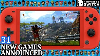All 31 New Switch Games ANNOUN…