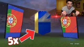 5 TOTS 92+ ASSURDOOO !!! TOTS BPL + SPAGNA + BUNDESLIGA PACK OPENING FIFA 18 ITA