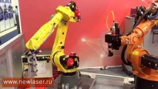 Лазерная резка металла. Роботизированный комплекс.(, 2015-05-27T10:41:05.000Z)