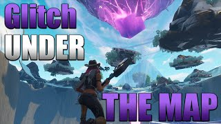 How To Glitch Under the Map Tutorial | Fortnite Season 6 (Fortnite Battle Royale)